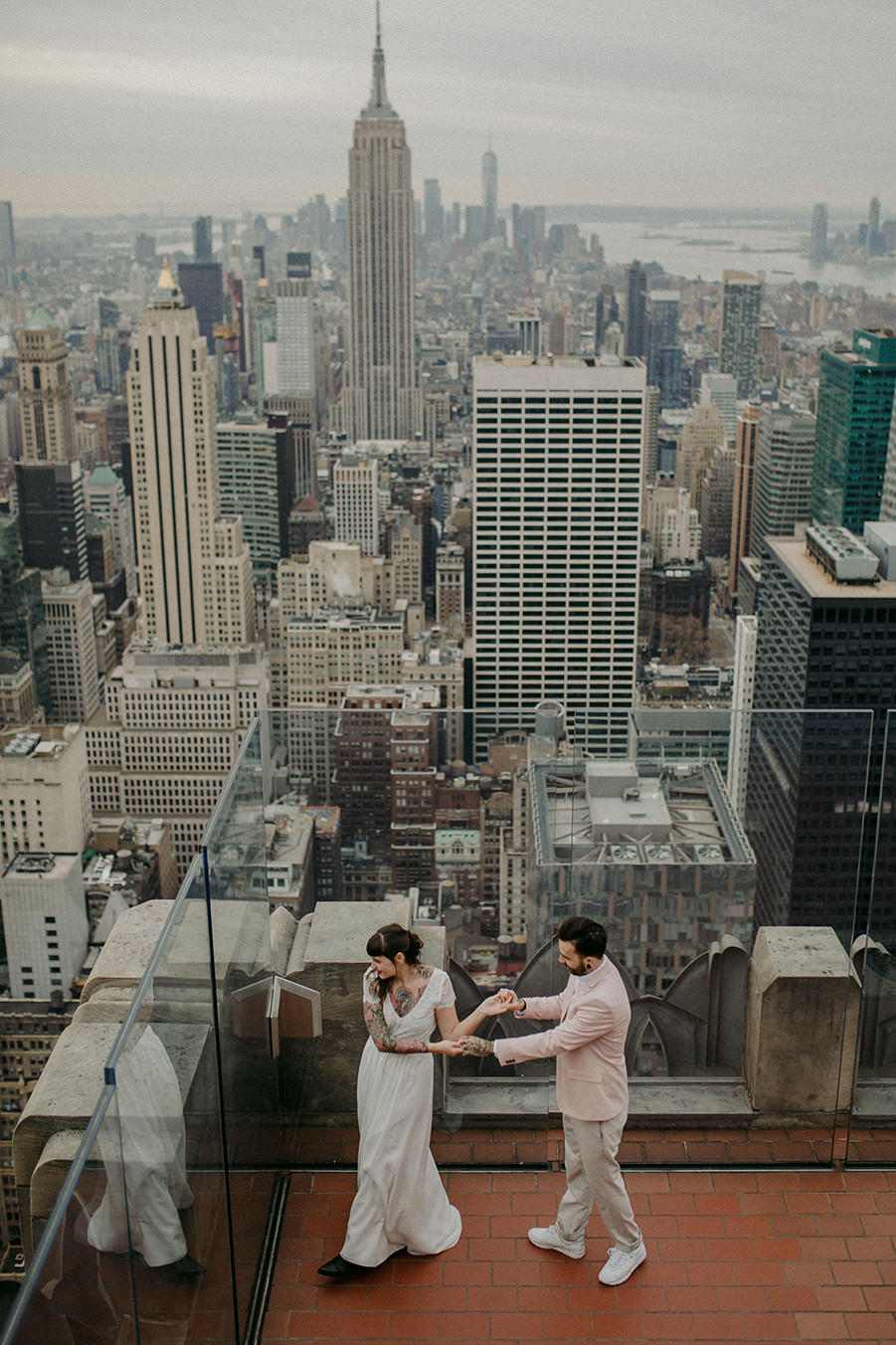 New_York_Wedding_Photographer_Elopement_Hochzeitsfotograf_New_York_City_Top_of_the_Rock_Destination_Weddingphoto