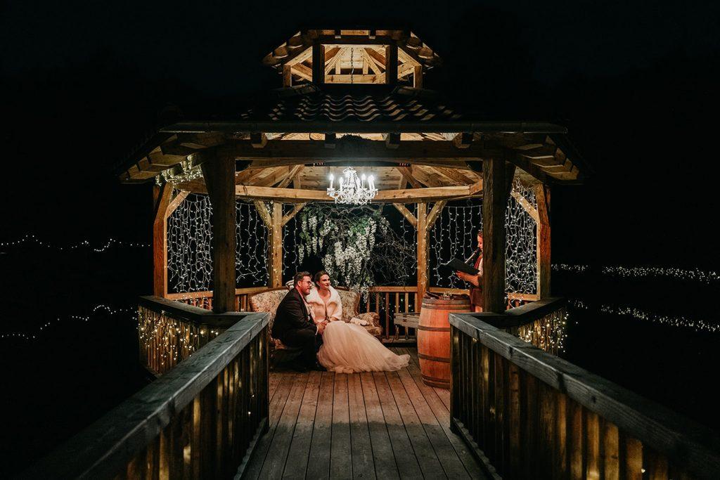 Freie Trauung Winter Hochzeit