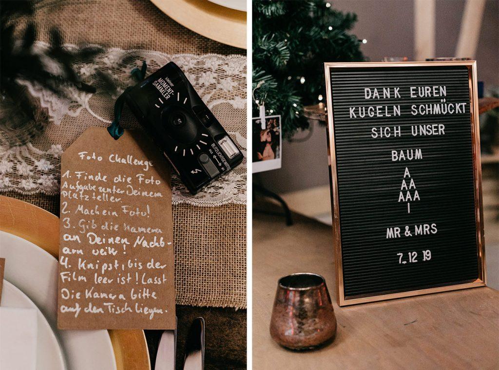 Challenge Hochzeit für Gäste